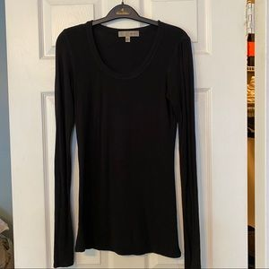 Red 23 black scoop neck long sleeve top small